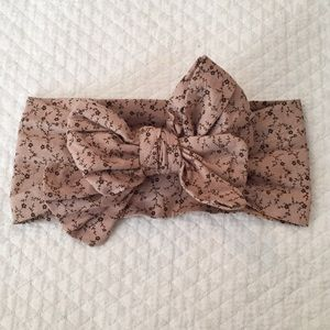 Other - HEADWRAP BOW TODDLER OR ADULT